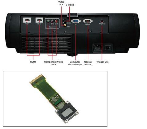 爱普生幕布遥控器接线图